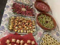 Catering buffet aan huis schalen